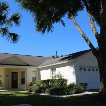 Home is Located in a Quiet Residential Neighborhood Just Minutes from Disney