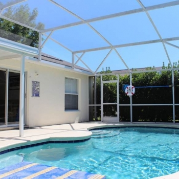 Large Heated Pool with Lots of Privacy