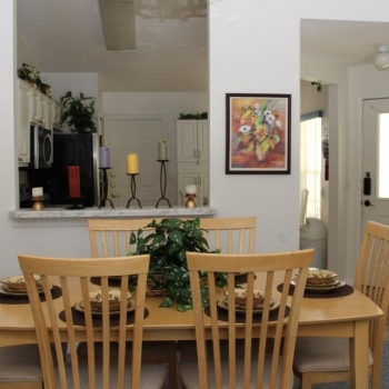 Formal Dining Table Seats Six
