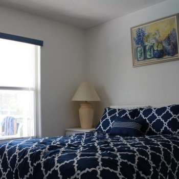 Guest Bedroom Comes Equipped with a Flat Screen HDTV and HD Cable TV